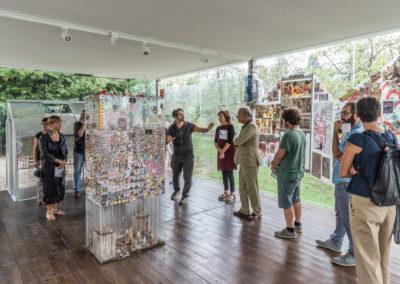 "Ausstellung, Federico Cavallini, ""Dietro i vetri"", 2018 © Leonardo Morfini, OKNO studios"