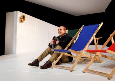 Der Schauspieler Peter Schröder übernahm die Rolle des Anwalts Andreas Sternthal. © Felix Grünschloß/Schauspiel Frankfurt