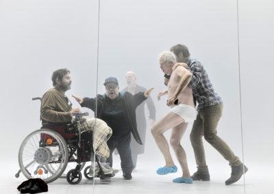 V. l. n. r. Andreas Döhler, Peter Luppa, Martin Wuttke, Tilo Nest, Samuel Schneider © Thomas Aurin