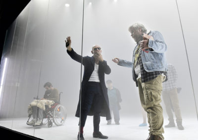 V. l. n. r. Martin Wuttke, Peter Luppa, Tilo Nest, Andreas Döhler, Samuel Schneider © Thomas Aurin