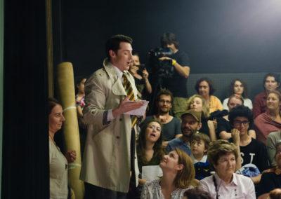 Johannes Dunz singt im Moda Sahnesi Theater in Istanbul © Enis Yücel