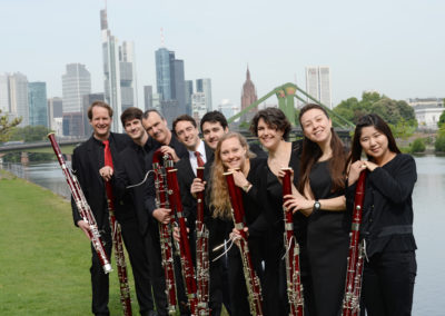 Basson Consort (Fagott Ensemble) Frankfurt © Barbara Aumüller