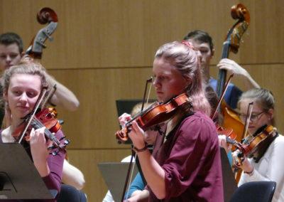 Umrahmt wurde die Preisverleihung mit einem Konzert der JMD-Mitgliedsensembles aus ganz Deutschland, die ihre Ergebnisse aus einem Orchester-Camp präsentierten. © Jeunesses Musicales Deutschland e. V.