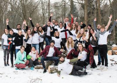 Nach vier Workshop-Tagen beginnen die Fellows mit ihrer ehrenamtlichen Arbeit und engagieren sich deutschlandweit als Botschafter/innen und Akteur/innen für ein Miteinander und Integration. © Start with a Friend e.V.