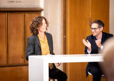 Die mit 25.000 Euro dotierte Auszeichnung geht 2020 an die Autorin Anne Weber. © vntr.media