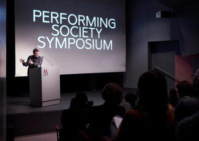 Rainer Forst, Professor für Politische Theorie und Philosophie, spracht in seinem Vortrag über Macht als perfomatives Konzept. © Nicolas Wefers