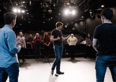 """Geleitet werden sie von Alumni der """"Akademie Musiktheater heute"""". © Candy Welz"""