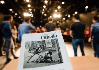"""Am 17.02.2018 fand im Deutschen Nationaltheater Weimar im Rahmen des START-Projektes ein Opern-Workshop mit Jugendlichen zu """"Othello"""" statt. © Candy Welz"""