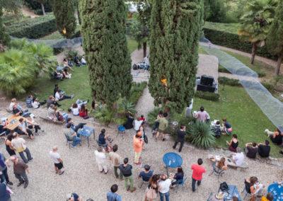 Der Garten der Villa Romana © Ilan Zarantonello / OKNOstudio
