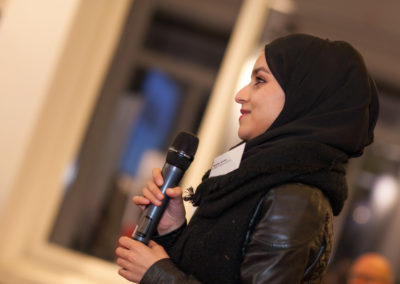 Während der Paneldiskussion findet ein Austausch mit dem Publikum statt. © Christina Weiß/Deutsche Bank Stiftung