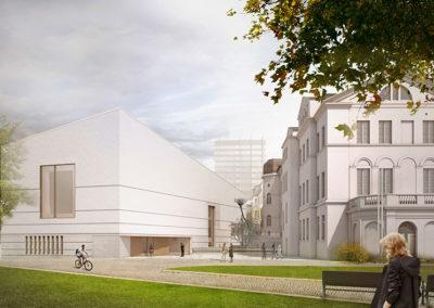 Lichtbau Sound Project | Jüdisches Museum Frankfurt