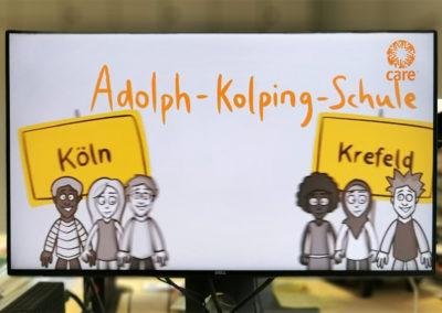 Die Schule erhielt den KIWI-Preis für ihre besondere Zusammenarbeit von zwei Vorbereitungsklassen mit neu zugewanderten Schülerinnen und Schülern. © Deutsche Bank Stiftung