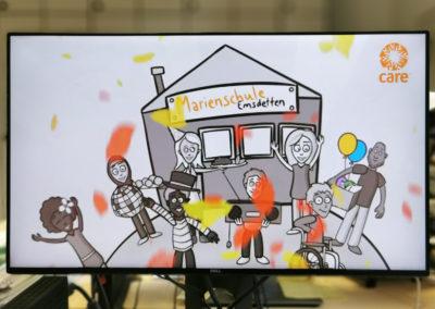 Die Schule bekam den KIWI-Preis für ihr interkulturelles Fest verliehen. © Deutsche Bank Stiftung