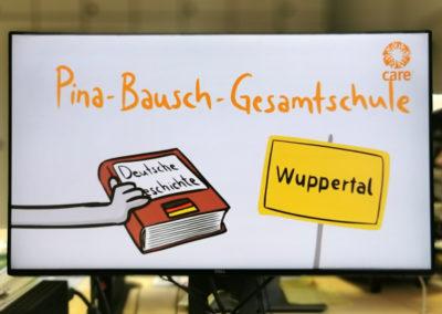 Die Pina-Bausch-Gesamtschule (Wuppertal) wurde für ihre interaktive Gedenk- und Informationsveranstaltung anlässlich des Mauerfalls ausgezeichnet. © Deutsche Bank Stiftung