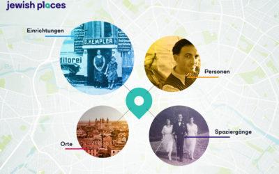 """Jewish Places mit """"KULTURLICHTER"""" 2020 ausgezeichnet"""