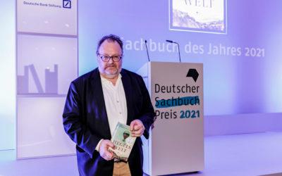 Jürgen Kaube mit Deutschen Sachbuchpreis 2021 ausgezeichnet