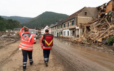 Unterstützung für Betroffene der Hochwasserkatastrophe